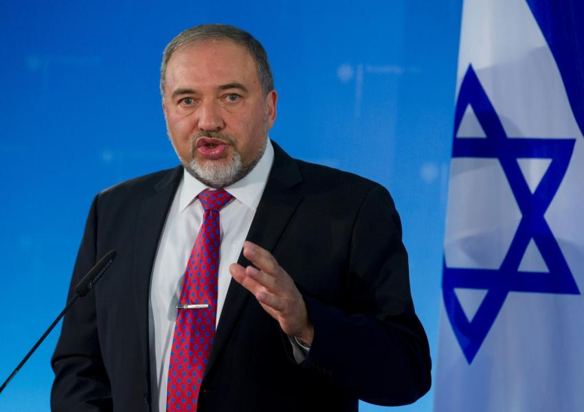 آویگدور لیبرمن وزیر دفاع اسرائیل