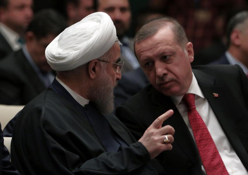 حسن روحانی و رجب طیب اردوغان