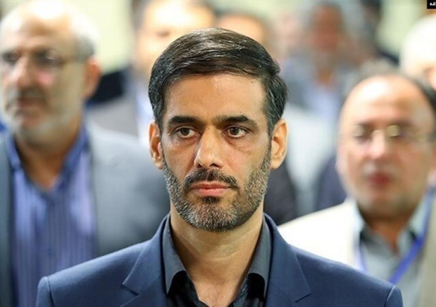 Saeed Mohammad, senior IRGC officer and aspiring politician. FILE