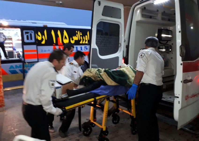واژگونی اتوبوس زائران ایرانی در مرز مهران