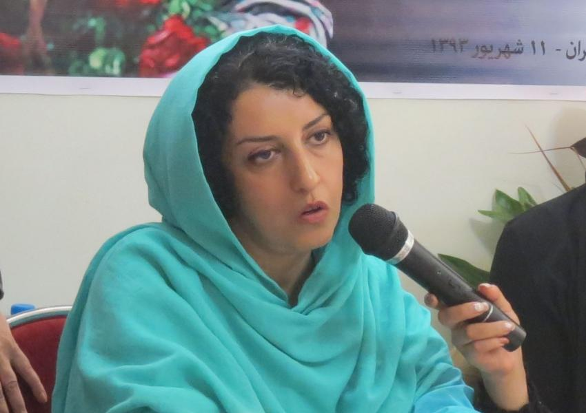 Narges Mohammadi, prominent human rights defender in Iran. FILE