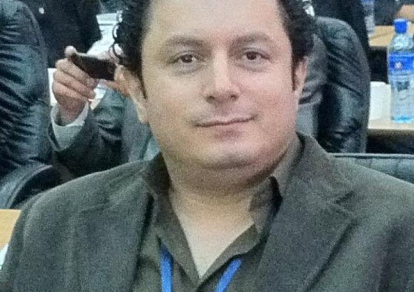 Shahin Naseri, a political prisoner who died in custody in September 2021
