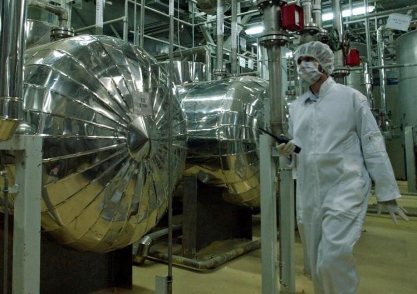 Iran's main uranium enrichment facility in Natanz. FILE PHOTO