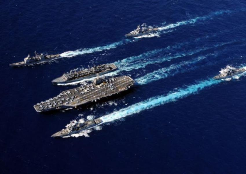 US aircraft carrier Abraham Lincoln. File Photo