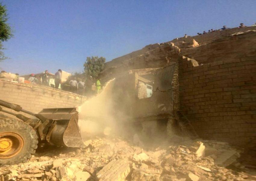 ریزش تپه روی یک واحد مسکونی در اهوازجان ۲ نفر را گرفت