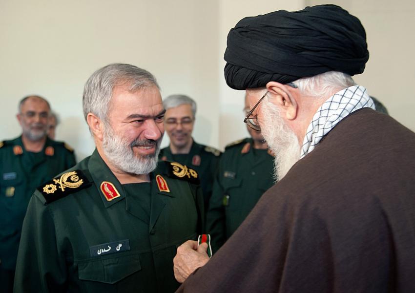 علی فدوی، فرمانده نیروی دریایی سپاه