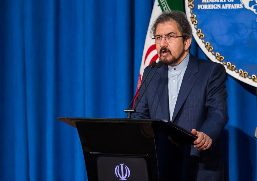 بهرام قاسمی، سخنگوی وزارت امور خارجه ایران