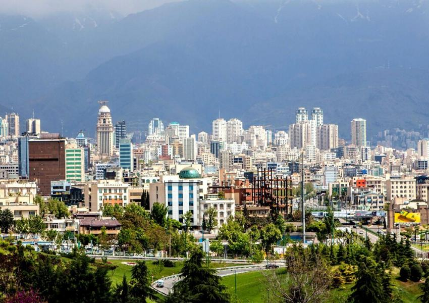 FILE - A general view of the northern part of Tehran