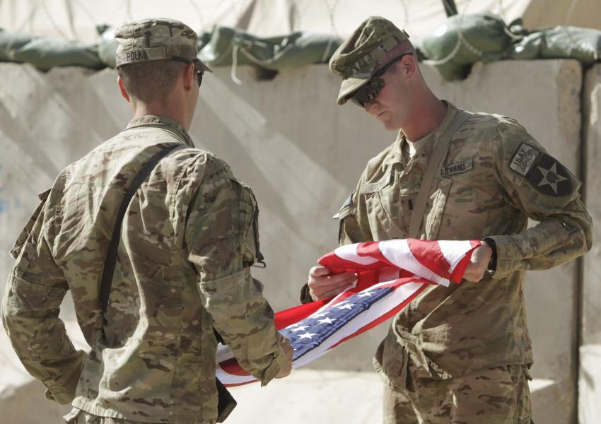 کاهش حمایت مردم آمریکا از حمله به افغانستان
