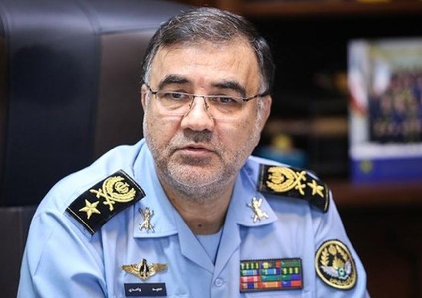 Hamid Vahedi, Commander of Iran's Air Force. File PHOTO