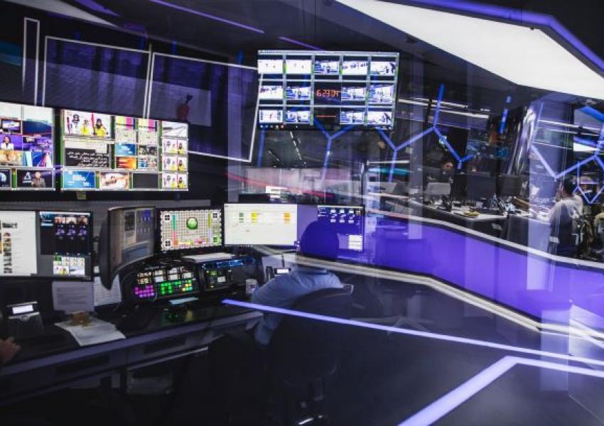 Iran International studios in London. File photo