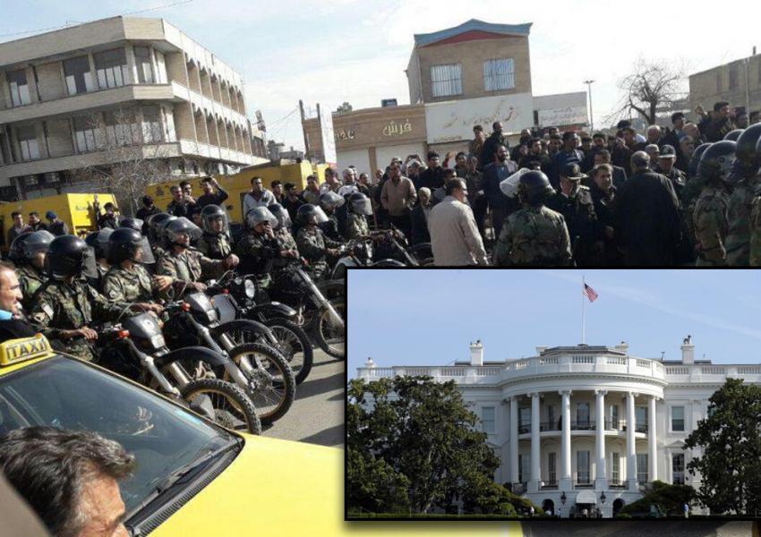 کاخ سفید در حمایت از بازداشتشدگان
