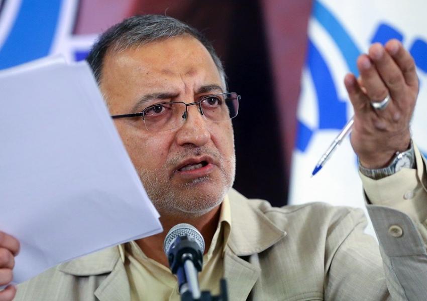 Alireza Zakani, a hardline Iranian politician and parliamentary official. FILE