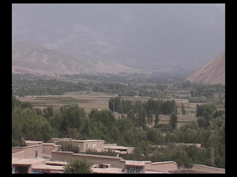 نمایی از دره اندراب منطقه ده صلاح و نوبهار (۲۰۱۳)