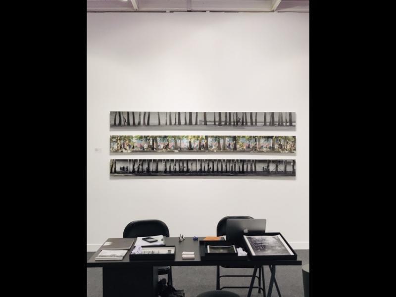 اثری از اصغر فرهادی در غرفه گالری راه ابریشم