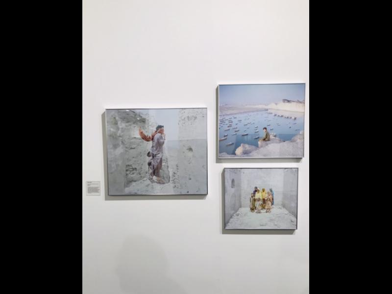 آثاری از تهمینه منزوی در غرفه گالری راه ابریشم