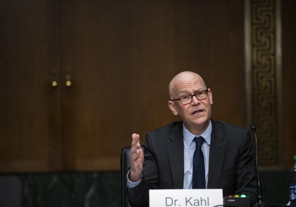Colin Kahl, during his Senate hearings on March 4, 2012.