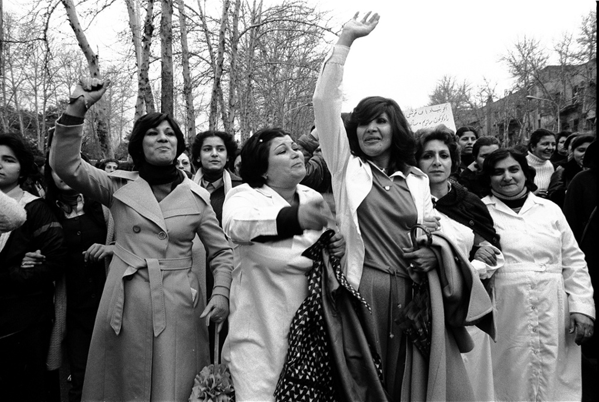 راهپیمایی اعتراضی زنان علیه حجاب اجباری